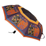 Laurel Burch Compact Umbrella Feline Family Portrait - LBU004A