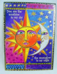 "Laurel Burch Card Love - ""Sister Sun Brother Moon"" - LVG44849"