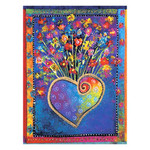 "Laurel Burch Magnet ""Blossoming Heart""  - MAG67065"