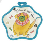 "Dog Pot Holder ""Dog Days"" - R2382"