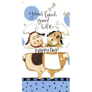 Happy Dog Terry Towel R2640
