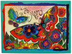 Laurel Burch Merci Card TKG10877