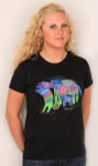 "Laurel Burch Tee Shirt ""Dancing Doggies"" LBT015"