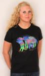 "Laurel Burch Tee Shirt ""Dancing Doggies"" LBT015"