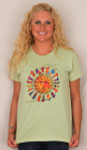 "Laurel Burch Tee Shirt ""Harmony Under The Sun"" LBT025"
