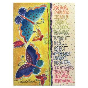 "Laurel Burch Birthday Card ""Close Your Eyes"" BDG11661"