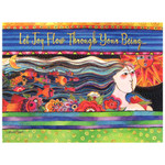 "Laurel Burch Birthday Card ""Mikalya"" BDG11663"