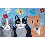 Feline Friends II - Floor Rug - JB-STS040
