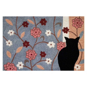 Silhouette Cat Design - Floor Rug - JB-HR004