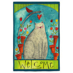 Cat Welcome Garden Flag 14S2413