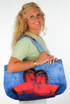 """Gypsy Sorrel Horses"" Horse Lovers Shoulder Tote - SS246A"