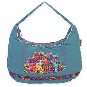 Laurel Burch Feline Clan Hobo Bag