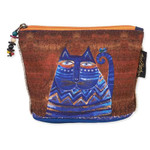 Laurel Burch Feline Minis Clutch Blue Cat