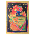 Laurel Burch Angel Cats Gift Holiday Card