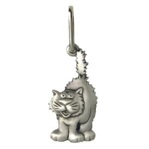 Feline Cat Pewter Zipper Pull 2688ZP