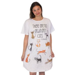Ordinary Cats Theme Sleep Shirt Pajamas 824OT