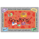 """Dog Theme One-Sided Placemat """"In Your Face"""" - 42391"""