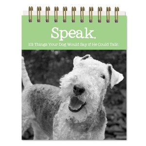 Dog Sayings Easel Book 5x4 - 47465