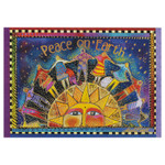 Laurel Burch Christmas Card Peace Holiday Season 10 Card Box C73042