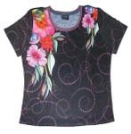 Laurel Burch Tee Shirt Floral LBT032