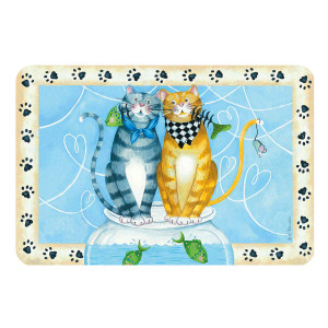 Kitty Friends Gather Here Placemat R0329
