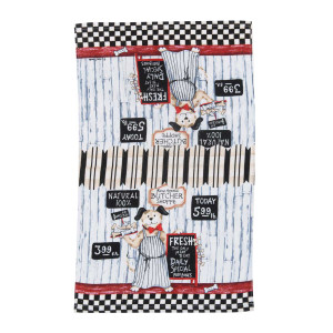 Dog Meat Market Terry Towel - R3190