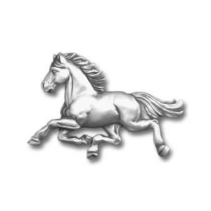 Horse Galloping Pewter Pin 1354PP