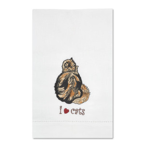Tortoise Shell Cat Tea Towel 45419