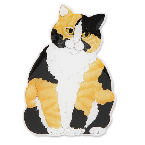 Calico Cat Shape Magnet 45440