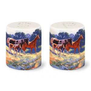Horse Days Salt & Pepper Shakers 822-63
