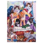Basket Kittens Fun Cats Garden Flag - GFBL-GE0007