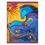 Laurel Burch Friendship Card Happiness is Having a Friend FRG17049