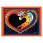 Laurel Burch Birthday Card I Love You BDG17041