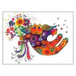 Laurel Burch Friendship Card Bright Blessings FRG14497