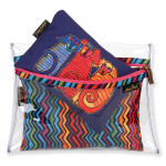 Laurel Burch Set of 3 Cosmetic Bag Canine Friends