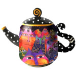 Laurel Burch Fantasticats Teapot - 26025