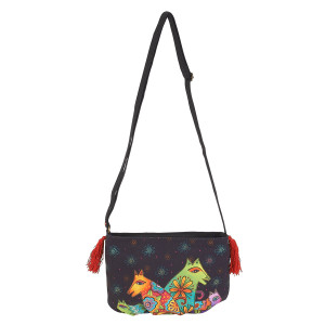 Laurel Burch Canine Clan Crossbody Bag LB5552H