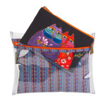 Laurel Burch Set of 3 Cosmetic Bag Feline Family LB5906E