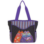 Laurel Burch Two Wishes Shoulder Tote - LB6000