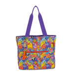 Laurel Burch Feline Tribe Shoulder Tote - LB5970