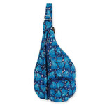 Laurel Burch Indigo Cats Quilted Cotton Sling Tote Bag LB6321