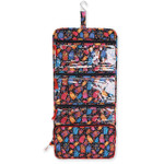 Laurel Burch Multi Feline Cats Quilted Toiletry Organizer Bag LB6314