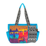 Laurel Burch Feline Family Medium Tote - LB6111