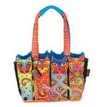 Laurel Burch Feline Clan Medium Tote - LB6103