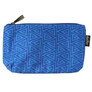Laurel Burch BLUE Cats 9x5 Cosmetic Bag LB6221B