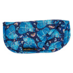Laurel Burch Indigo Cats Quilted Eyeglass Pouch LB6346A