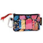 Laurel Burch Multi Feline Cats Coin Purse LB6348B