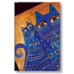 Laurel Burch Address Book Mediterranean Cats Mini 1219-1
