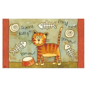 Sweet Kitty Floor Mat MatMate 13807D