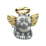 Cat Angel Small Lapel Pin 1944CP